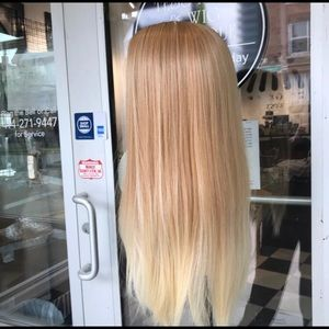 Accessories - Wig blonde ombré 27/613 Long 360 Fullcap Swisslace